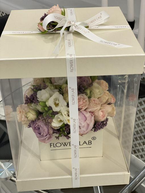 """Цветы в коробке """"Цветочная долина"""""""