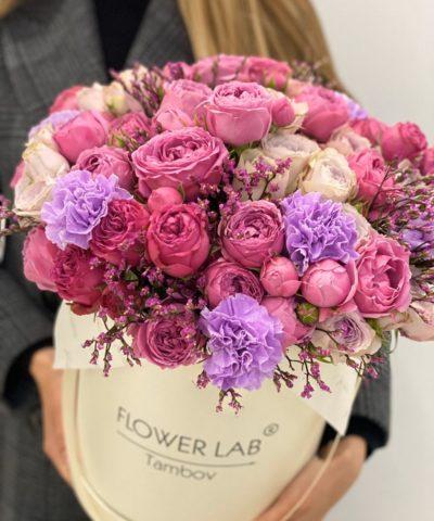 """Цветы в коробке """"Feeling"""""""