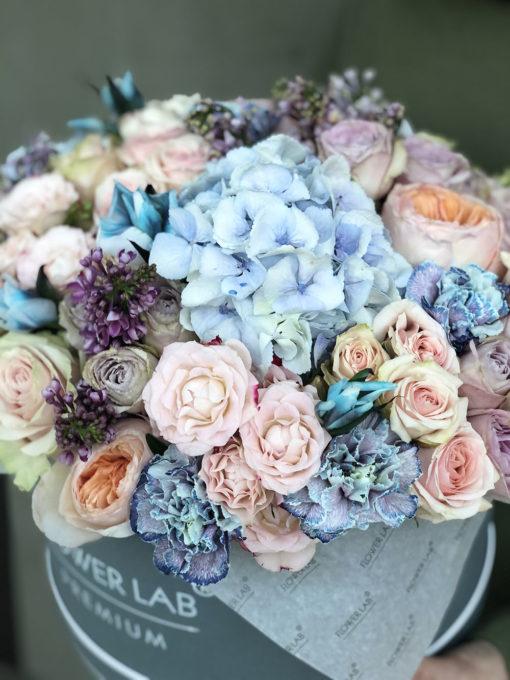 Коробка цветов «Морской бриз»