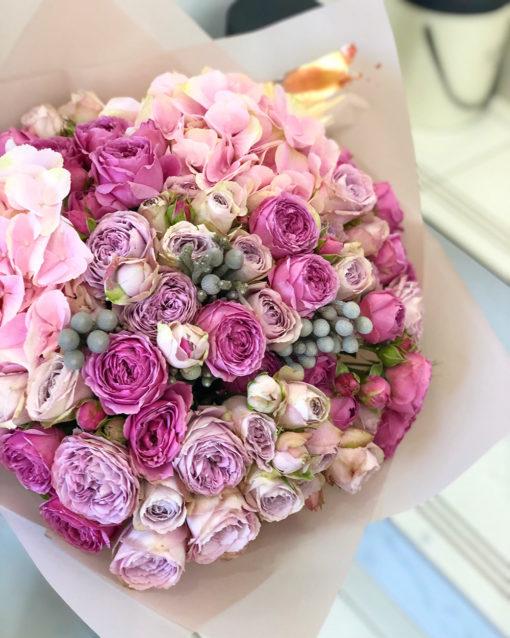 """Букет цветов """"Розовый микс"""""""