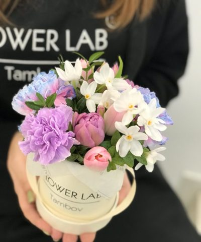 "Цветы в коробке mini ""Spring"""