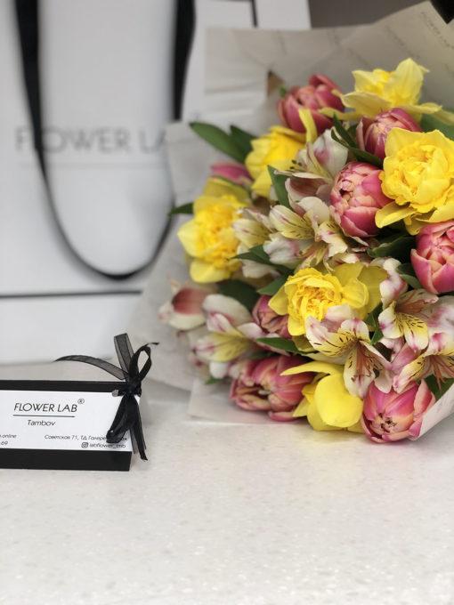 "Букет цветов ""Весенний микс"""